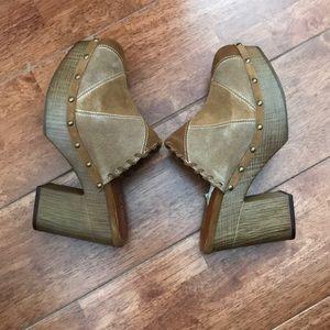 Mia Shoes - Mia slip on platforms